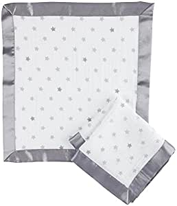 aden by aden + anais security blanket 2 pack, dove