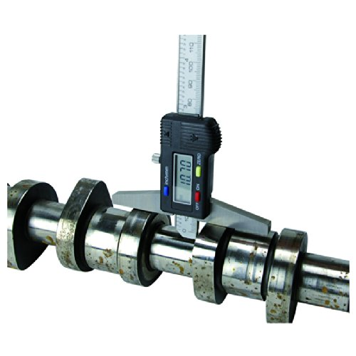 Engineers Workshop with Hook 150mm 6 Digital Depth Gauge Metric and Imperial