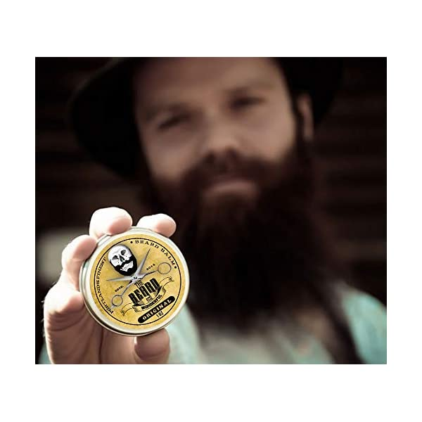 Beard Balm Big 30ml Leave-in Beard Taming Balm, Premium Beard Styling, Conditioning, Add Growth & Shine, Strengthening, Softening, Thickening All Natural Organic Shea Butter, Jojoba & hempseed Oil
