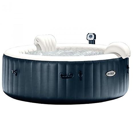 Pack Spa hinchable Intex Pure Spa Plus burbujas 6 personas + ...