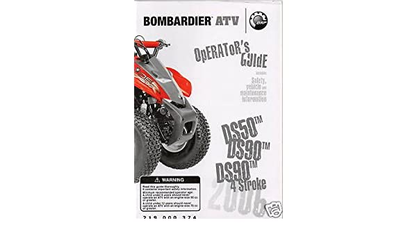 Repair manual bombardier ds 90 2006 array 2006 bombardier atv ds50 ds90 u0026 4 stroke owners manual rh amazon com fandeluxe Image collections
