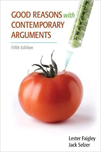 Good reasons with contemporary arguments 5th edition 5th fifth flip to back flip to front fandeluxe Images