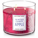 Bath and Body Works Winter Candy Apple 2017 Candle