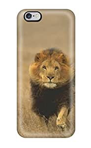 Awesome Design Lion Hard Case Cover For Iphone 6 Plus(3D PC Soft Case)