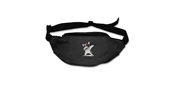 Dabbing French Bulldog Sport Waist Bag Fanny Pack Adjustable For Hike