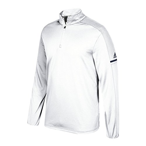 Adidas Spil Bygget Langærmet Kvartal Hvid-kollegialt Flåde wKovxGds