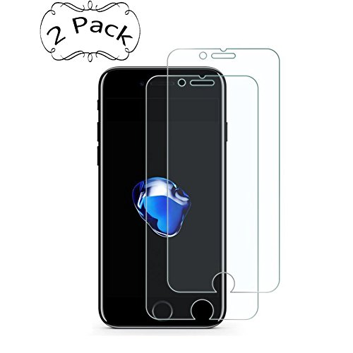iPhone 8/7/6S/6 Screen Protector, UZER Tempered Glass Film 3D Touch Compatible, HD Clear, Ultra-thin, Case Friendly, 9H Hardness,Bubble Free,Anti-Scratch for iPhone 8/7/6S/6 (4.7 inch)[2 Pack]