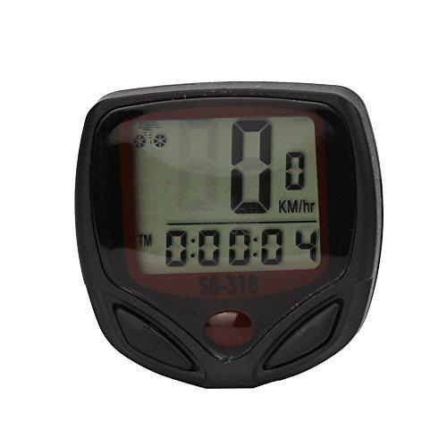 Orcbee  _Waterproof Bicycle Bike Cycle LCD Display Digital Computer Speedometer Odometer