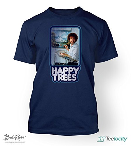 teelocity-bob-ross-officially-licensed-t-shirt-happy-trees-x-large