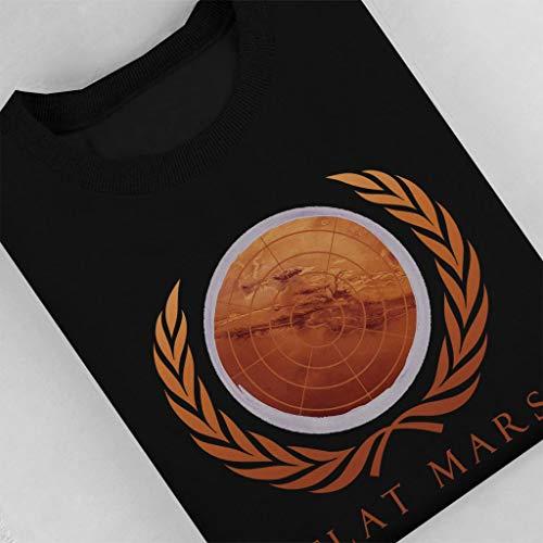 Flat Mars Women's Society Black Sweatshirt rAqOrwf7x