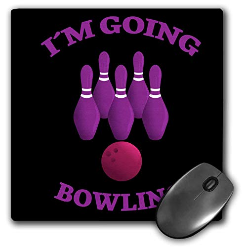 Bowling Photo Pin (3dRose Sven Herkenrath Sport - Im Going Bowling Sport Hobby Game - Mousepad (mp_256775_1))