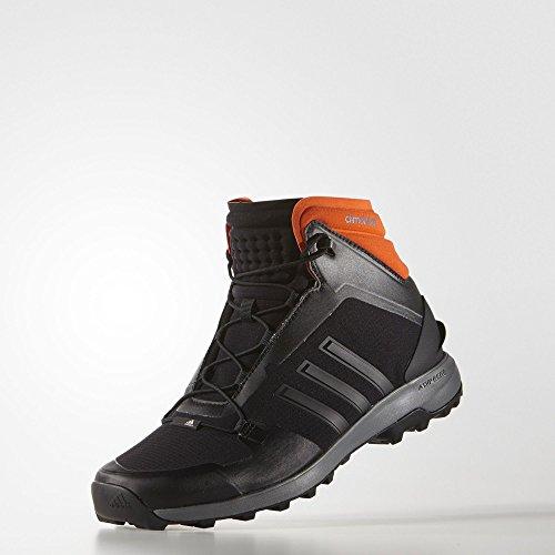 adidas Performance FASTSHELL MID Zapatillas de Senderismo Negro Naranja Unisex ClimaHeat