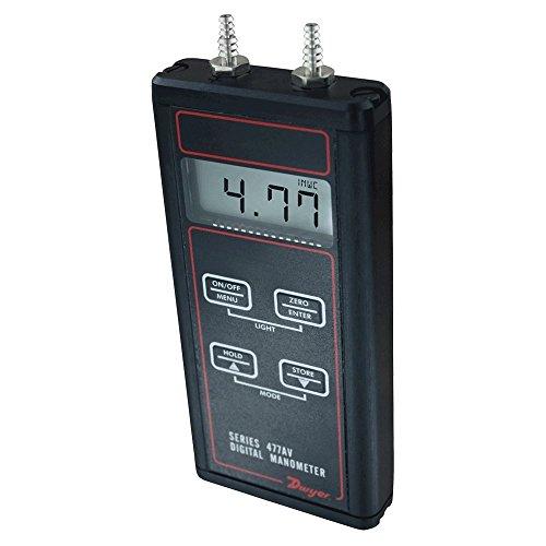 Manometer Kit, Digital, 20.00 In WC