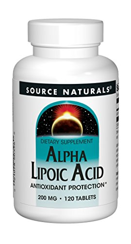 Source Naturals Alpha Lipoic Acid Antioxidant Protection 200mg - 120 - 120 Pills Mg 200