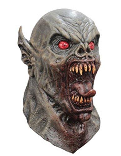 Ancient Nightmare Demon Vampire Head & Neck Mask