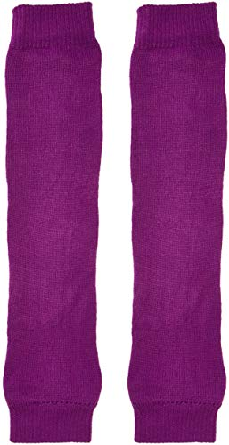 Forum Novelties Women's Neon Leg Warmers, Purple, One Size
