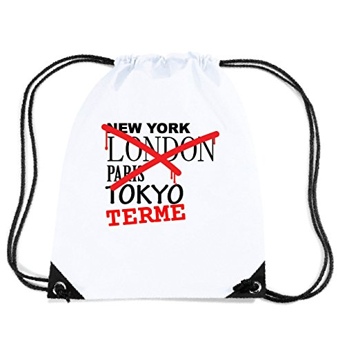 JOllify TERME Turnbeutel Tasche GYM3227 Design: Graffiti Streetart New York