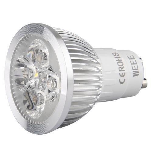 Sonline del proyector del bulbo de la lampara LED GU10 blanco ...