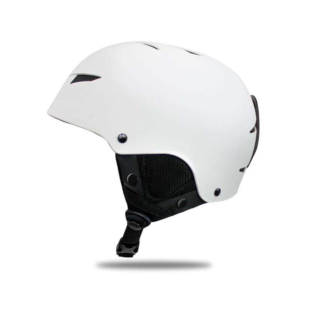 【オンラインショップ】 スキー l|白 白&スノーボードヘルメット l、スキー用保護安全帽男性女性スケートボードスケートヘルメットシングルボードダブルボード B07PTQCXWR 白 L l L l|白, 甲賀市:66790049 --- a0267596.xsph.ru