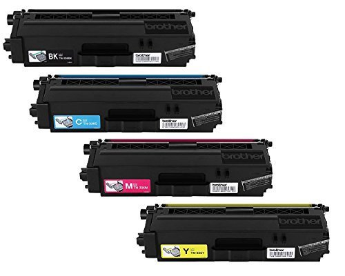 Brother TN-336 High Yield Toner Cartridge Set (BCMY)