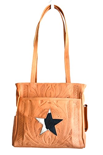 western-cowgirl-ropin-west-hand-tooled-cowhide-leather-texas-star-purse