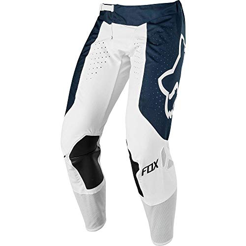 Fox Racing 2019 Airline Mens Adult Pants ATV MX Offroad Dirtbike Motocross Riding Gear, Navy/White, -