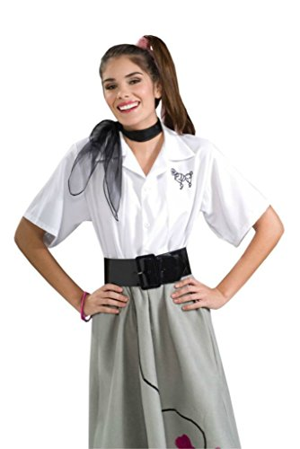 Greece Movie Halloween Costume (Forum Novelties Womens Retro Retro 1950S Poodle Blouse Greece Halloween Costume, M (6-10))