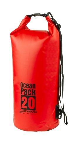 Kayak Travel Red 20L Waterproof 20 Litre Day Dry Karana Bag Ocean Pack A16W7q