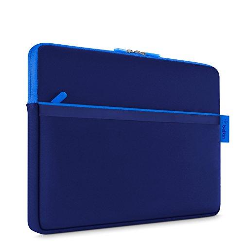 Belkin Blue Sleeves - Belkin Pocket Sleeve for Microsoft Surface, Surface Pro, Surface 2, Surface Pro 2, and Surface 3 (Blue)