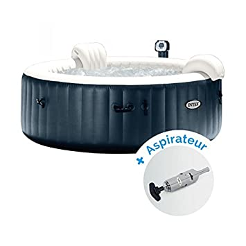 Pack Spa hinchable Intex Pure Spa Plus burbujas 4 personas + ...