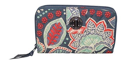 Vera Bradley Turnlock Wallet, Nomadic Floral