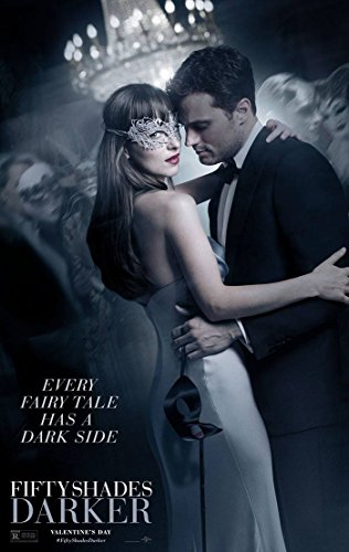 Fifty Shades Darker Movie Poster 2 Sided Original Ver B Dakota Johnson