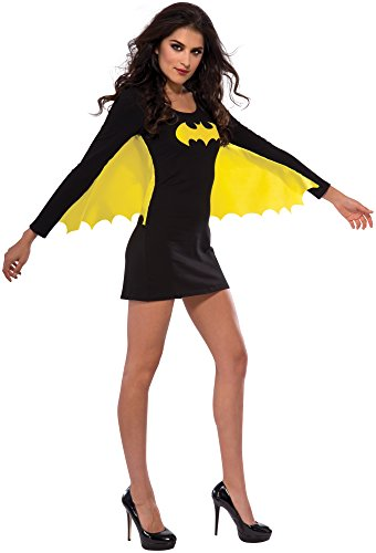 Rubie's 880417-M Women's DC Superheroes Batgirl Wing Dress, Medium, Multicolor