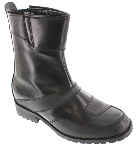 High Top Motorcycle Boots - 4