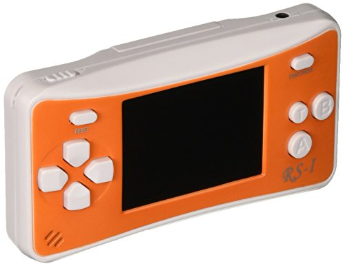 Game Player ES-16 8 Bit Handheld Game Console - White with 168 Games Built In 2.5 Inch TFT Screen