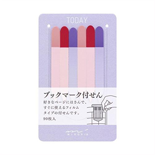 Midori Film Slim Type Sticky Note / Index Purple (11260006)
