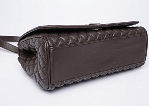 Josephine Osthoff Handtaschen-Manufaktur, Borsa a tracolla donna marrone marrone one size