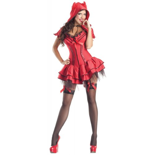 [Devil Body Shaper Plus Size Halloween Costume (XXX)] (Hot Halloween Costumes Devil)