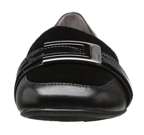 Lifestride Vrouwen Baffle Slip-on Loafer Zwart