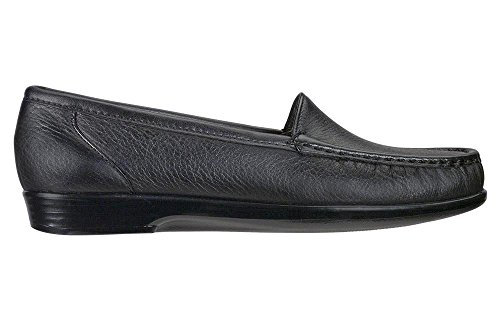 SAS SAS Women's Simplify Slip-on Shoe, Black, 8w price tips cheap