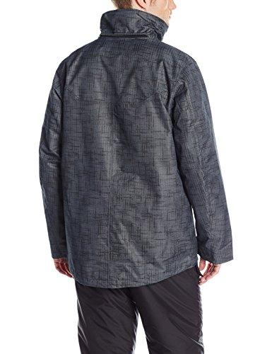 Di Interscambio Stampa Uomini Di Degli Giacca Nero Della Tweed Abbigliamento Sportivo Columbia Di Whirlibird q8zntwZ8Y