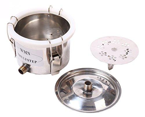 New 3 Pots DIY 3 Gal 12 Litres Alcohol Moonshine Ethanol Still Spirits Stainless Steel Boiler Water Distiller Whiskey Wine Making Kit by WMN_TRULYSTEP (Image #5)