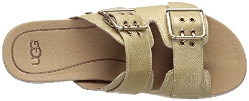 UGG Australia Metallic Platform Sandals by UGG Gold 2jYbjo9yJj