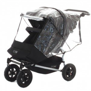 Mountain Buggy Duo Storm Cover, Clear, Baby & Kids Zone