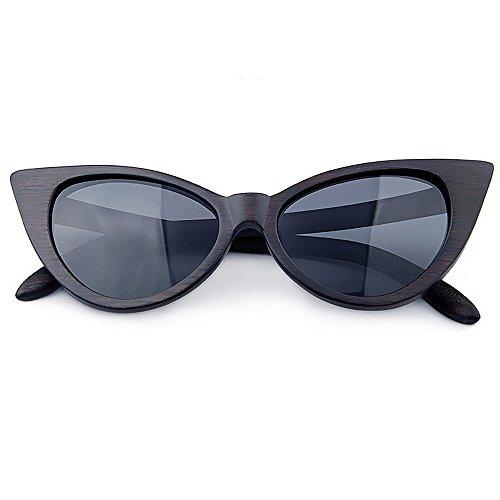 Chat de Yeux Soleil Bleu Lunettes à la Femmes Protection Hommes Main UV KOMEISHO Couleur Noir Lady Sexy Lunettes pour Couleur Fq5w50
