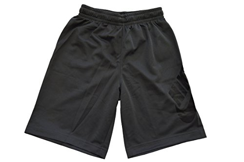 Nike Boys Youth SB Logo Dri Fit Shorts M Dark Grey by Nike