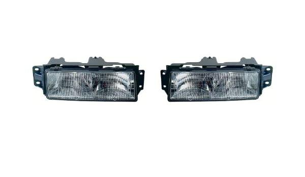 Amazon com: Oldsmobile Cutlass Ciera Replacement Headlight Assembly