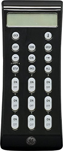 GE Z-Wave Wireless Lighting Control LCD Remote