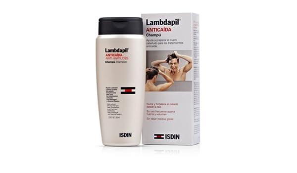Amazon.com : Lambdapil Anticaída Champú, 200ml. - Isdin Skin Capital : Baby