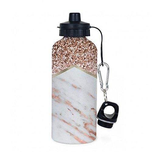 Marble & Glitter Water Bottle ()